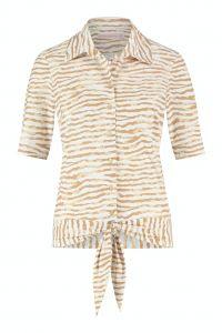 Studio Anneloes Pippa Tie Dye Stripe Blouse 05932