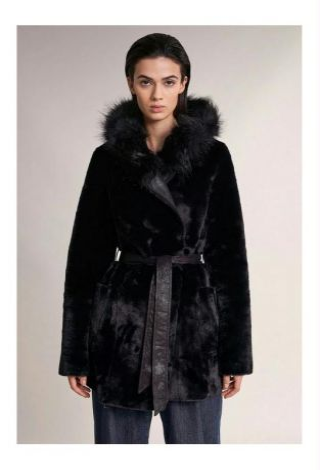 Salsa 124221 Reversible Fur Jacket