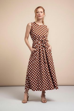 Studio Anneloes Sigrid Big Dot Dress 05746