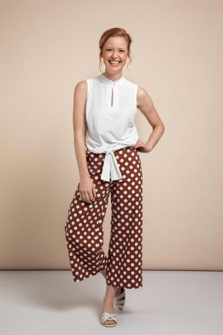 Studio Anneloes Bowy Big Dot Trousers 05745