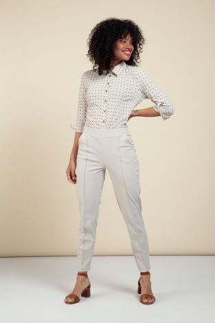 Studio Anneloes Kate Bonded Trousers 06052