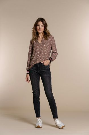 Geisha 11843-24 Jeans With Studs At Pocket