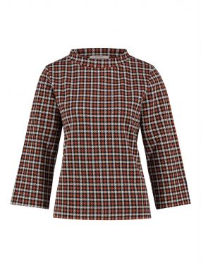 LOES Eve check turtleneck top 20263