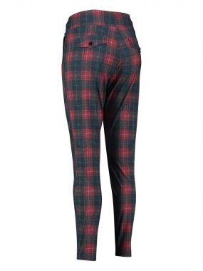 Studio Anneloes Road check trousers 03889