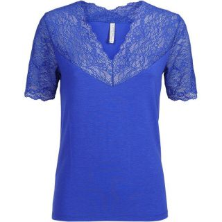 Summum 3s4397-30120 Tee lace short slv viscose ea