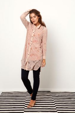 Studio Anneloes Woopy lace blouse 02206