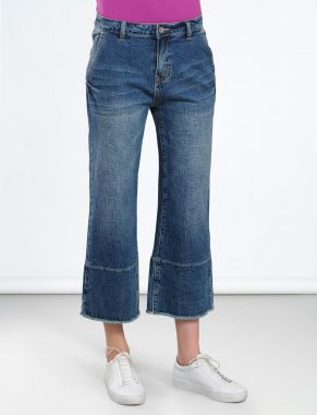 Summum 4s1671-10819 Jeans stretch denim culotte