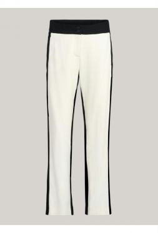 Summum 4s1934-11100 Trousers Wide Leg Viscose Crep