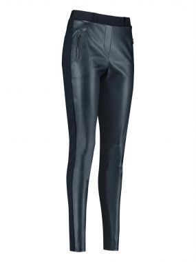 Studio Anneloes Margot Leather Combi Trousers 04013 - 04269