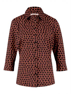 Studio Anneloes Poppy Dot Cuff Blouse 04229