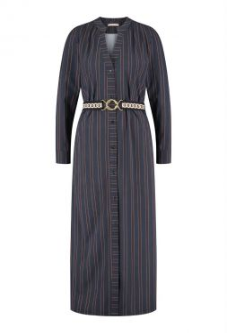 Studio Anneloes Shelby Pinstripe LS Dress 04970