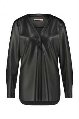 Studio Anneloes Evi Leather Blouse 05277