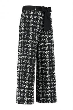 Studio Anneloes Charlotte Knit Look Trousers 05222
