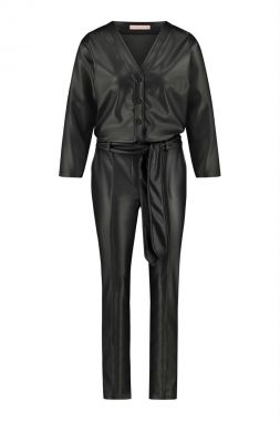Studio Anneloes Hanny Leather Jumpsuit 05280