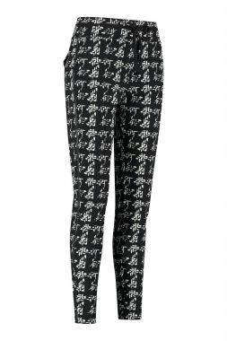 Studio Anneloes Road Knit Look Trousers 05223