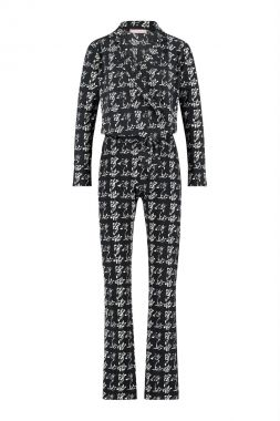 Studio Anneloes Angelou Knit Look Jumpsuit 05225