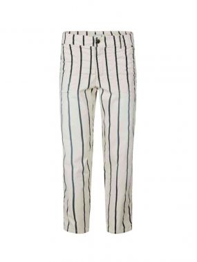 Summum 4s2105-11727 Loose Tapered Pant Striped Sof