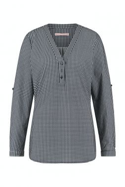 Studio Anneloes Evi Small Check Blouse 05514