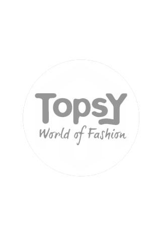 Geisha 13099-21 Top AOP Leopard Ruffle Sleevel