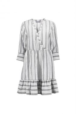 Geisha 17070-14 Dress Cross Over Stripe