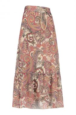 Studio Anneloes Sila Paisly Crepe Skirt 05719