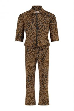 Studio Anneloes Eliza Animal Zipper Jumpsuit 05739