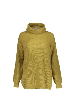 Geisha 14618-70 Pullover Long With Turtle
