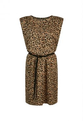 Summum 5s1259-30239 Dress Padded Animal Print On S
