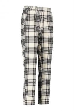 Studio Anneloes Anne Bonded Plaid Trousers 06358
