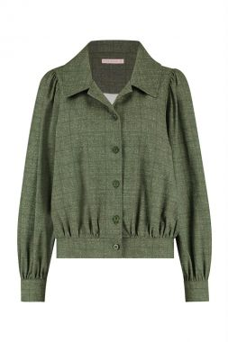 Studio Anneloes Fiebe Check Blouse Jacket 06361