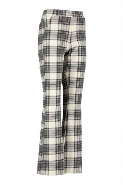 Studio Anneloes Flair Bonded Plaid Trousers 06357